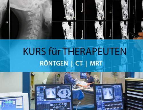 Fortbildungskurs für Therapeuten –  Röntgen, CT, MRT