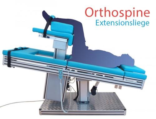 Wirkung der Orthospine Extensionsliege